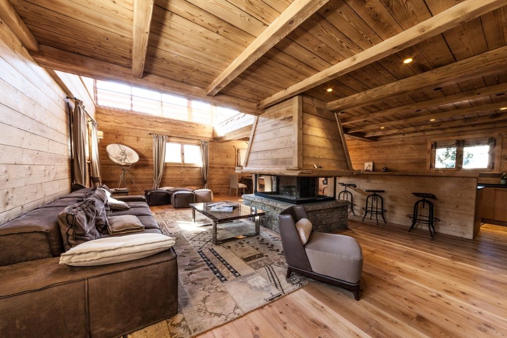 Arredamento montagna moderno mobili rustici e arredi di for Arredamento chalet di montagna